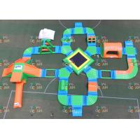 China 31x28m Open Water Floating Inflatable Park Playground Aqua Fun Commericla Event wholesale