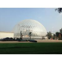 Transparent PVC Geodesic Dome Tent For Outdoor Events