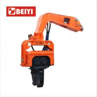 China Beiyi v330 pile hammer equipment vibratory sheet pile driver for all excavators manufactory wholesale