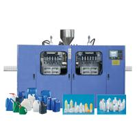 China HDPE Yoghurt Bottle Milk Bottle Blowing Machine , Plastic Bottle Production Machine wholesale