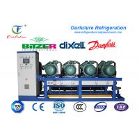 China Meat Cold Room Compressor Unit Single Stage Energy Controlling System wholesale