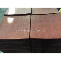 China Non - Warping EPDM Rubber Pavers Outstanding Performance For Sports Area wholesale