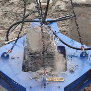 China Hydraulic Static Pressure 300-650mm Square Concrete Pile Breaker Environmental Protection Equipment. wholesale