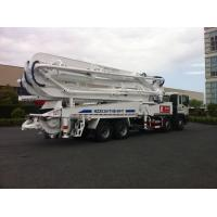 China 47m Concrete Pump Trucks 8x4 / Cement Pumping Equipment With Cooling system wholesale