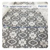 China Elastic Lace Fabric of Spandex & Nylon with Rhombic Little Flower Pattern wholesale