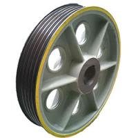 China Elevator Traction sheave,lift Rope wheel for elevator wholesale
