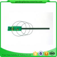 China Triangle Plastic Coated Steel Garden Stakes For Plant Support wholesale