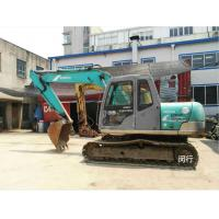 China Second Hand Construction Machinery , Kobelco Sk100 Excavator 600mm Shoe Size wholesale