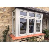 China Horizontal Open French Casement Windows with Aluminium Alloy Frame wholesale