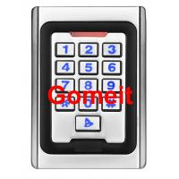 China Metal Keypad Stand Alone Proximity Card Reader , IP68 Waterproof Stand Alone Door Access wholesale