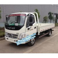 China Diesel engine type Foton Aoling 6m length 4X2 2 ton small cargo truck for sale BJ1049V9JEA-3 cream / red / blue color on sale