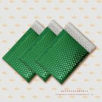 Quality Green Metallic Bubble Mailer (MB002) for sale