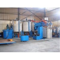 China PU Foam Making Machine With Clamp Long Foam Block Unit 2000mm/min~7000mm/min wholesale