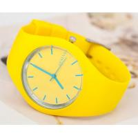 Quality Top fashion eco-friendly silicone watch,geneva silicone wrist watch with cheap price for sale