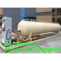 China 20M3 LPG skid mounted mobile LPG gas cylinder filling station with LPG tank wholesale