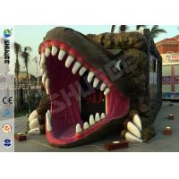 China Removable Dinosaur Cabin 6D Movie Theater Motion Ride Hydraulic / Electric System wholesale