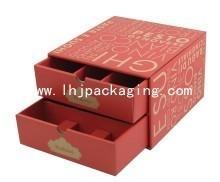 China drawer wine box wholesale