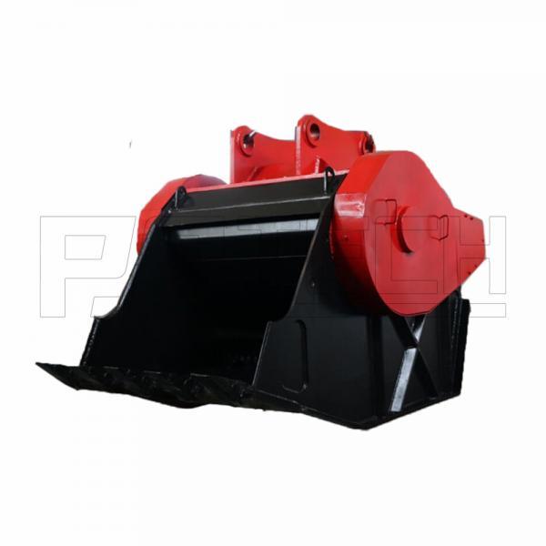 Quality 3t Load Excavator Rock Crusher , Doosan Digger Crusher Bucket for sale