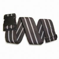 China Adjustable Luggage Strap, Measures 2 Inches x 180cm, Made of Plastic, POM and Polypropylene wholesale