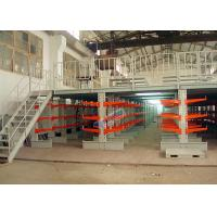 Supply Chain 800 mm Length Cantilever Storage Racks 100 Kg Upright Load for sale