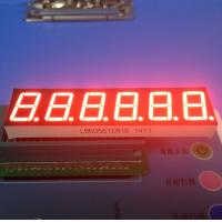 China 6 Digit 0.56 Inch Ultra Bright Red 7 Segment Led Display For Weighing Scale wholesale