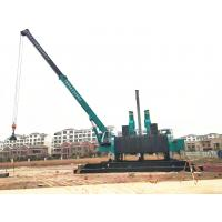 China Compact Pile Driver Machine For Spun Pile And Square Pile Without Noise And Pollution wholesale