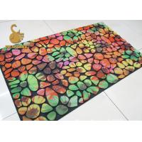 China Easy Cleaning Kitchen Carpet Underlay Felt With Anti - Slip Pvc Dots Backing on sale
