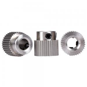 China Feed Wheel 36 Teeth MK7 MK8 3D Print Head Extruder Stainless Steel wholesale
