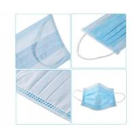 Quality Easy Breathing 3 Ply Disposable Face Mask  High BFE Soft Comfortable FDA CE for sale