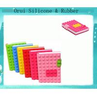 China Silicone block  notebooks suitable for kids , teens and adults wholesale