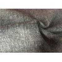 57 / 58 Comfortable Woven Wool Fabric Breathable For Garment Suit Coat