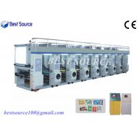 China High Speed 7 Motor Equip Computer Control Rotogravure Printing Machine wholesale