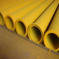 """5"""" MF End Concrete Pump Pipes , Concrete Pump Delivery Pipe Thickness 5MM"""