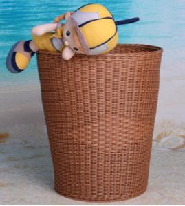 PP/PE Weaved Rattan Laundry baskets
