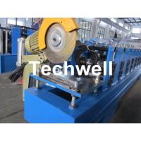 China 13 Forming Stations Roller Shutter Door Cold Roll Forming Machine With Manual Decoiler wholesale