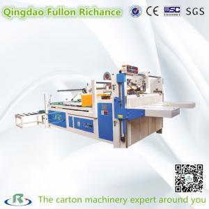 China Low Price Semi-Automatic Carton Box Folder Gluing Machine For Carton Box wholesale