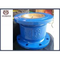 China Silent Flanged Check Valve Stainless Steel Stem DN50 Blue Color For Water Treatment wholesale