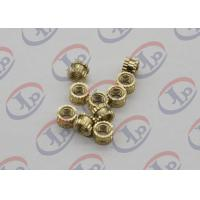 Buy cheap OEM ODM CNC Machining Parts , Swiss Lathe Turning Brass Knurled Nuts with M5 Thread from wholesalers