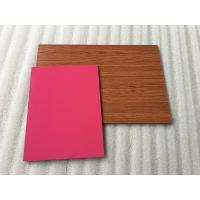 Quality High Intensity Polyester Aluminium Composite Panel , Aluminum Wall Panels Exterior  for sale