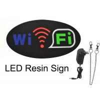 China Oval WIFI Sign With Four Display Modes  Window Signage wholesale