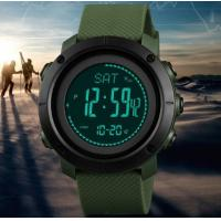 China Skmei Multifunction Altimeter Pressure Weather Temperature Compass Chronograph Dual Time Outdoor Camping  Watch 1418 wholesale