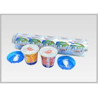 China Multiple Layer Plastic Aluminum Foil Lids Laminated Soft Temper And Food Use on sale