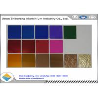 China Anodized Finish 1050 1060 1100 Aluminum Sheet Rust Resistant For Tags / Nameplate wholesale