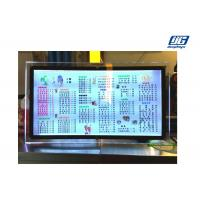 China Table Standing Illuminated Menu Board Crystal Acrylic Material Light Box wholesale