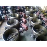 Quality Gearbox Operated Butt Welded Eccentric Butterfly Valve 16'' Three Eccentric Design for sale