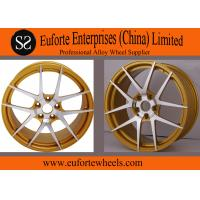 China Susha Wheels-Bronze Aluminum Alloy  Forged Wheels / Rotary Aftermarket Aluminum Wheels wholesale