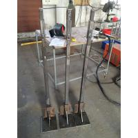 Quality Outdoor Custom Aluminum Extrusion Upright / Poling / Upright Stanchion with Fabricating for sale