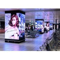Fixed Install Indoor Led Advertising Screen Cabinet 480*480mm Video Wall HD Pixels