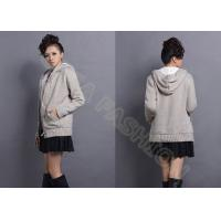 China Fashion Autumn Womens Chunky Sweaters With Pockets , Ladies Cardigan Sweaters with Buttons wholesale