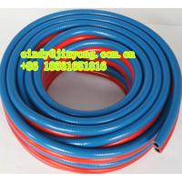 Buy cheap PVC polyester hose -double tube from wholesalers